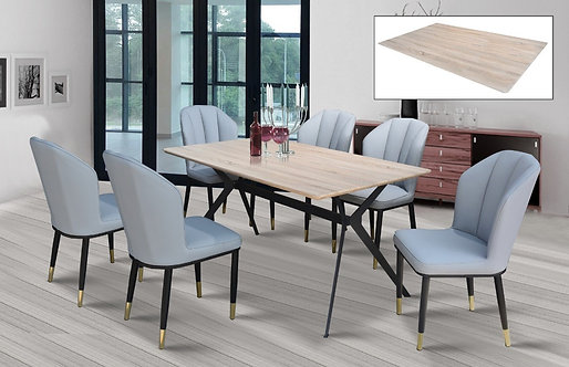 Megina 6 Seater Dining Set