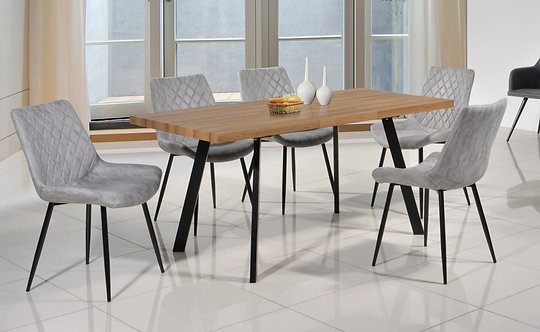 FR79002B 6 Seater Extendable Dining Set