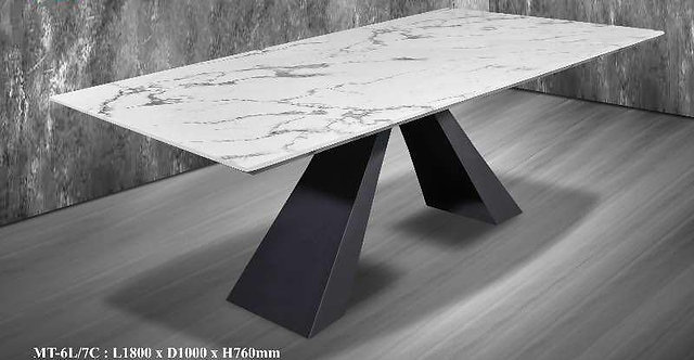 MT-7C Marble Dining Table