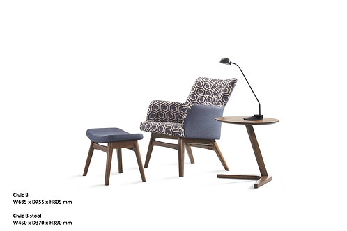 Civic B Designer Chair