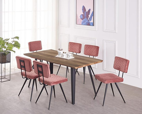 Alecia 6 Seater Dining Set
