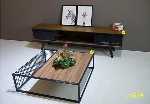 VT100 Combo TV Cabinet Set