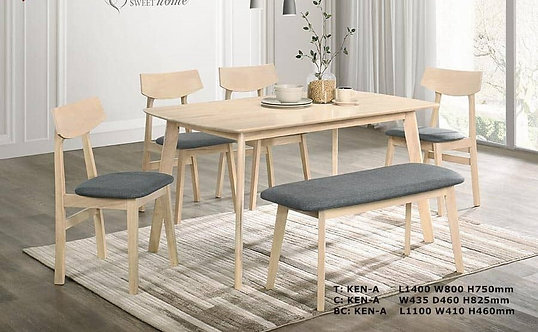 Ken 6 Seater Dining Set