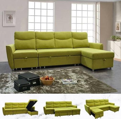 MX(6645) L-Shape Sofa Bed
