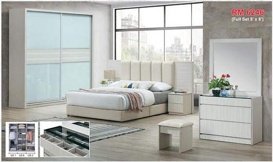 MX(1105) Queen/King Bedroom Set