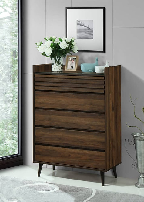 Umber Chest Of Drawers