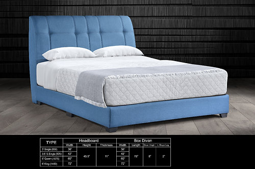 MX-773 Queen/King Bed Frame