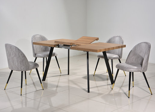FR79002 4 Seater Extendable Dining Set