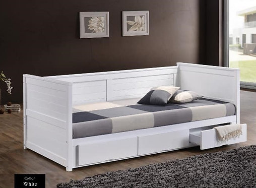 MX9301 Single Bed Frame With Drawers