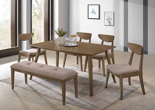 Lexwood 6 Seater Dining Set