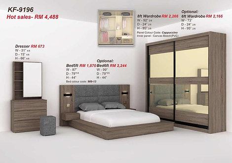 KT9196 Queen/King Bedroom Set