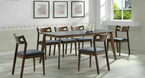 Centure 8 Seater Dining Set (Glass Top)