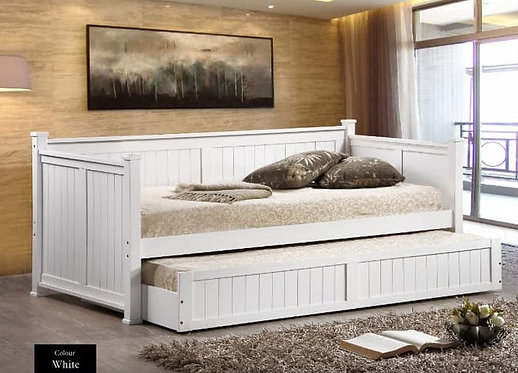 MX9303 Single Bed Frame With Pull Out Bed