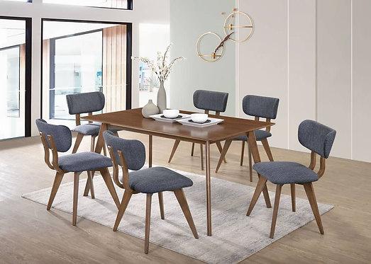 VTL Millo 6 Seater Dining Set