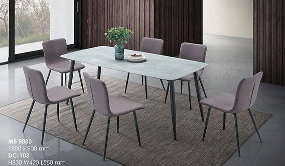 MX(8880) Ceramic Dining Table