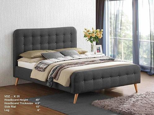 K35 Queen/King Scandinavian Bed Frame