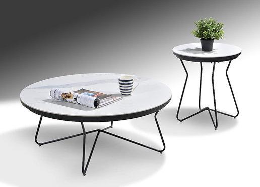 MX(J193A) 2in1 Ceramic Coffee Table Set