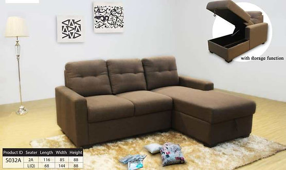 Nataly L-Shape Sofa