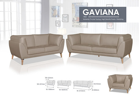 Gaviana 3 Seater Sofa