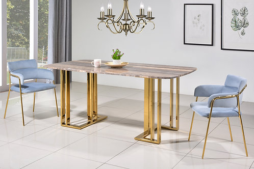 Graziano 6 Seater Marble Dining Set