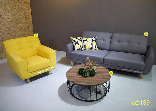 Moris Combo Sofa Set