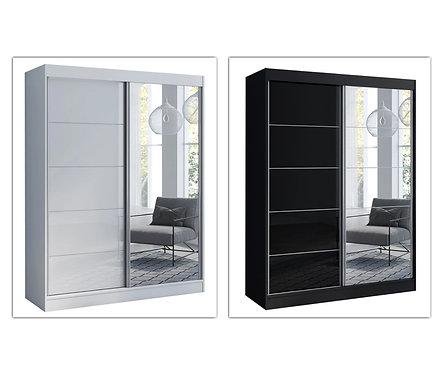 7ft(L) x 8ft(H) MX31 Mirror Wardrobe