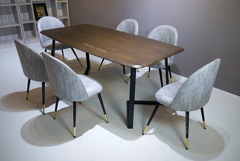 Moneda (TF) 6 Seater Dining Set