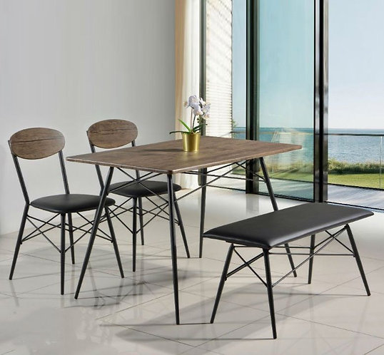 MX-158 4 Seater Dining Set