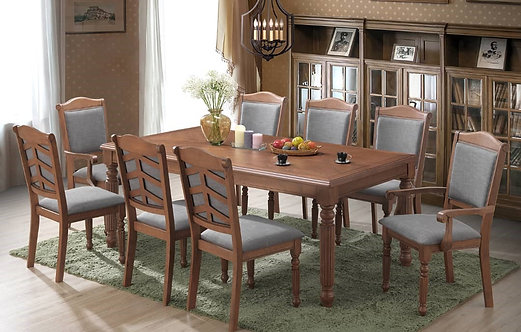 MX(232A) 8 Seater Dining Set