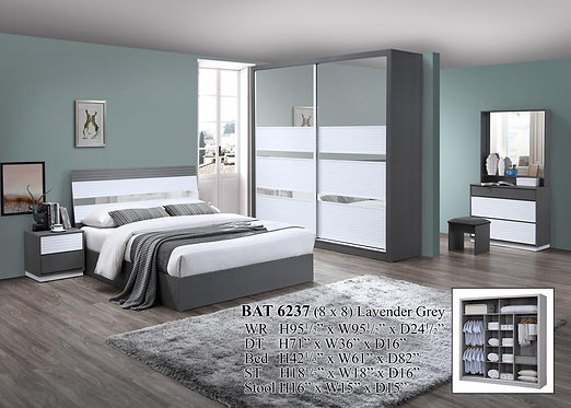 BAT6237 Queen/King Bedroom Set