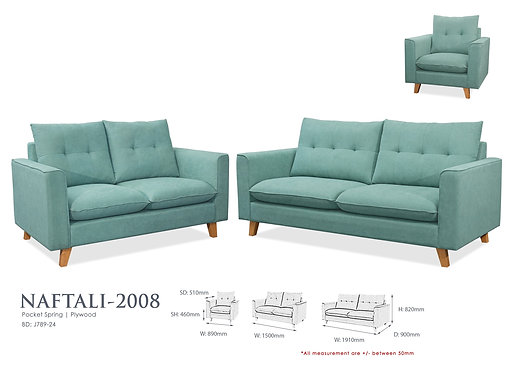 Naftali 3 Seater Sofa