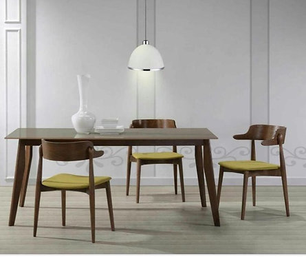 Kozi 6 Seater Dining Set (Glass Top)