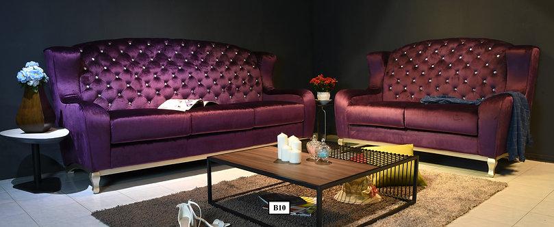 Luigi 3 Seater Sofa