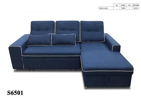 S6501 L-shape Sofa Bed