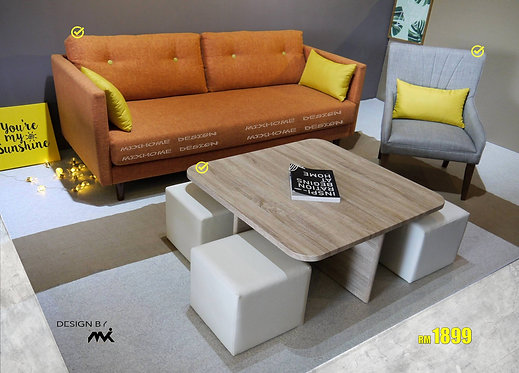 Malmo Combo Sofa Set