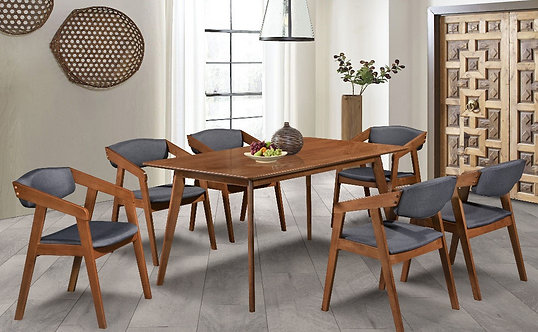Meera (WL) 6 Seater Dining Set