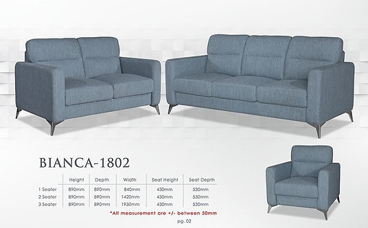 Bianca 3 Seater Sofa