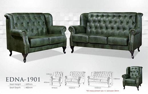 Edna 3 Seater Classic Sofa
