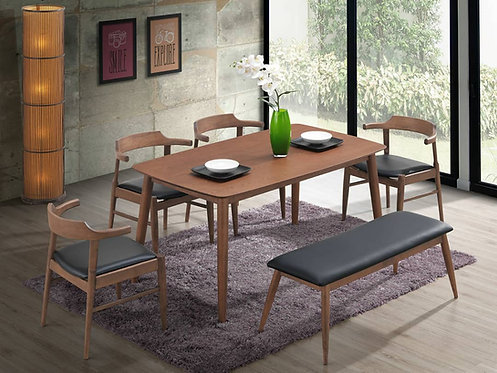 Pakly 6 Seater Dining Set
