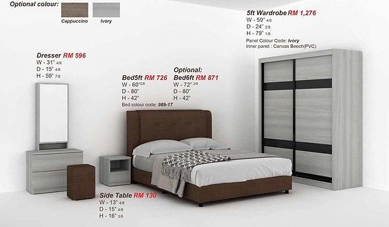 MX(9201) Queen/King Bedroom Set