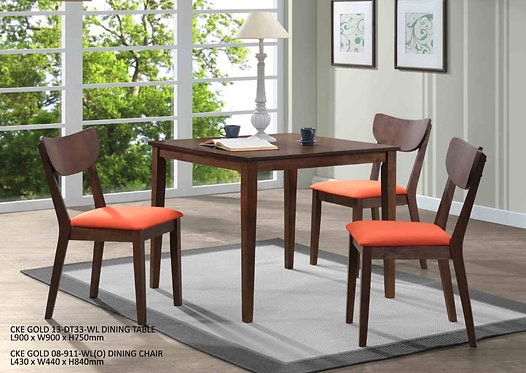 Veges (S) 4 Seater Dining Set