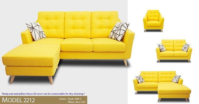MX(2212) 3 Seater Sofa
