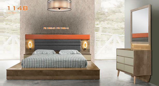 MX(114B) Tatami Queen/King Bed Frame