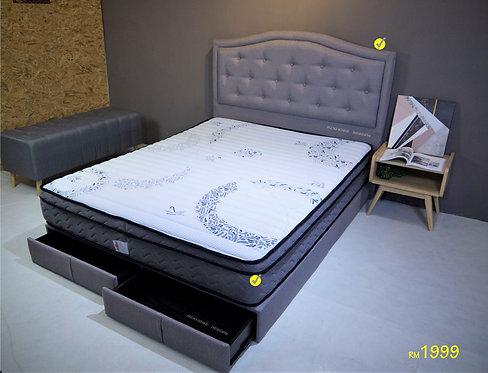 Vincci Combo Queen Bed Set