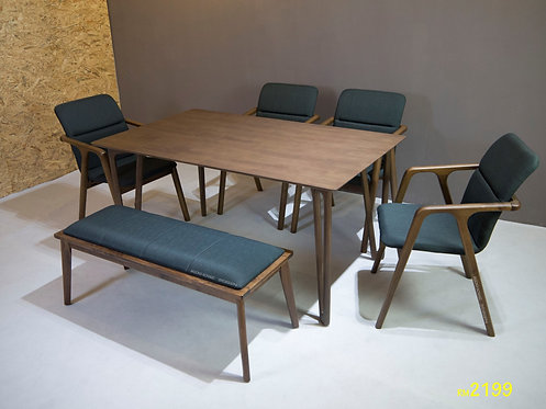 Moneda (FB) 6 Seater Dining set