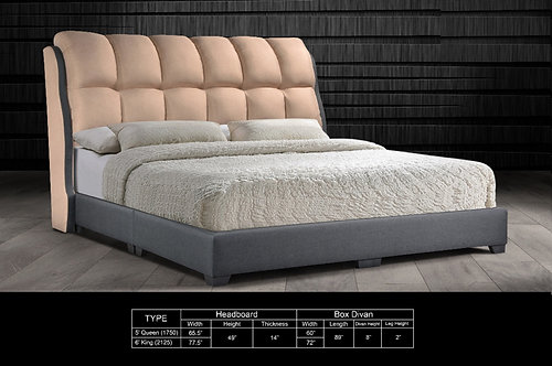 MX-704 Queen/King Bed Frame