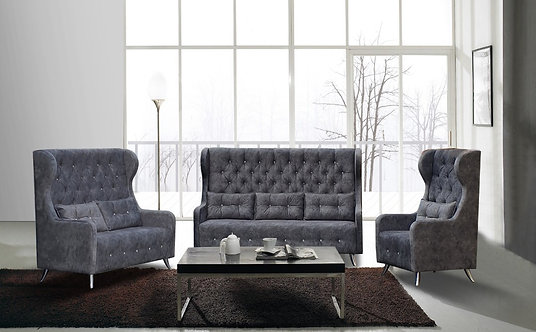 Lucino Chesterfield 3 Seater Sofa