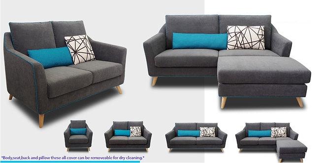 MX(2211) 3 Seater Sofa