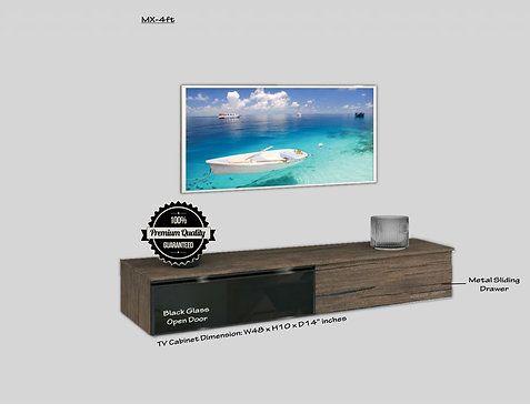 Wall Mount TV Cabinet (4ft-8ft)