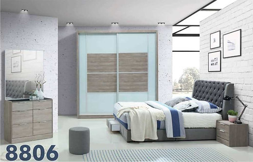 LH8806 Queen/King Bedroom Set